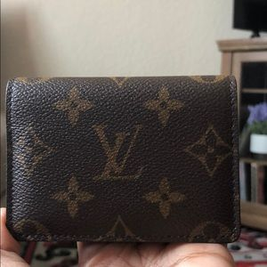 LV ENVELOPE BUSINESS CARD HOLDER